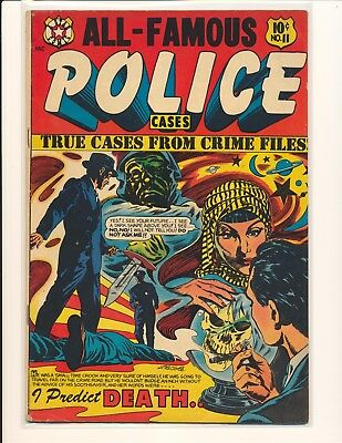All-Famous Police Cases # 11 - L.B. Cole cover VG/Fine Cond.