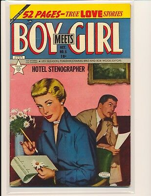 Boy Meets Girl # 5 Fine Cond.