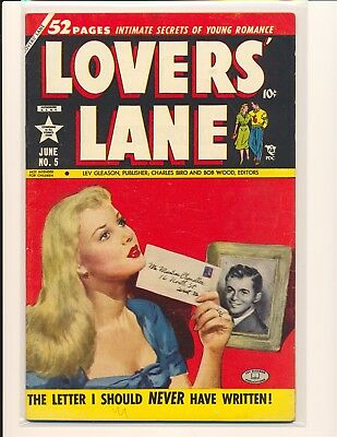 Lovers' Lane # 5 VG+ Cond.