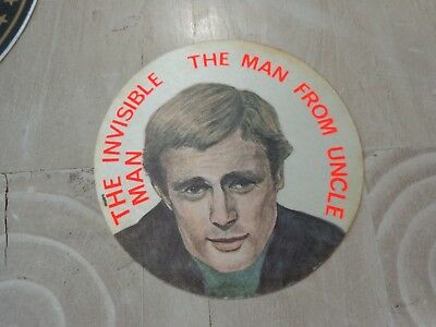 1970,s European Sticker David McCallum The Invisible Man The Man From Uncle