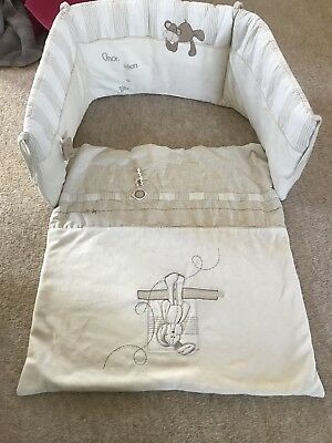 Mamas And Papas Once Upon A Time Crib Bumper And Coverlet Set
