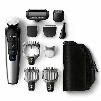 Philips Grooming Kit Serie7000 PRO QG3398/15  Recortador barba cabello 10 en 1