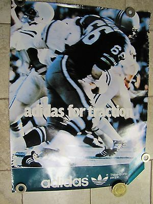 Orig ADIDAS Advertising Poster FOOTBALL Adidas Traction All Sports People