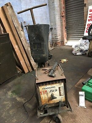 Boc Trans Arc 100 Welder, With Trolley.