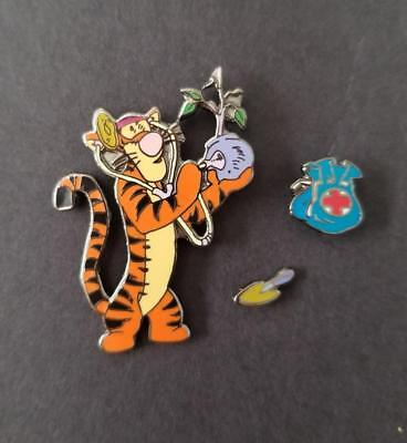 Disney DLR Tigger as a Tree Doctor Arborist Costume Medical Bag 3 Piece Pin Set