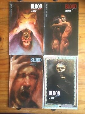 Blood, A Tale. Set of Four Graphic Novels. 1-4