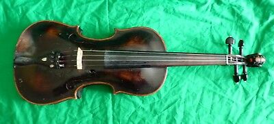 Antique 1896 violin labelled to the inside – German / Austrian ?