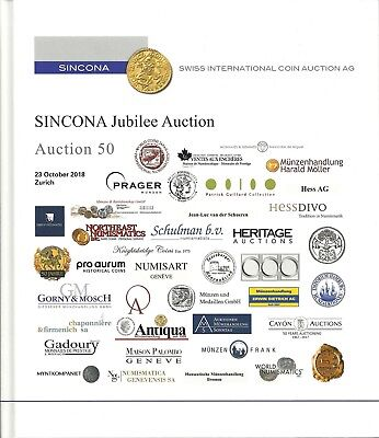 50.Auktion – Sincona Jubilee Auction,World Coins