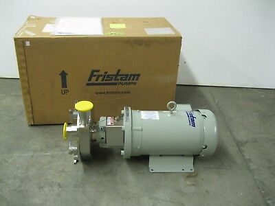 "2-1/2"" x 2"" Fristam FPX742-175 Centrifugal Pump 7.5 hp Motor NEW Z19 (2371)"