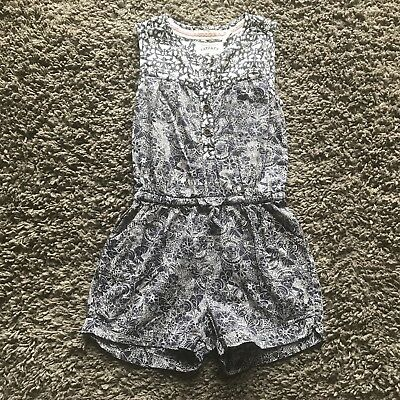 Fat Face Playsuit Girls Summer 4-5 Year Good Condition