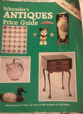 Schroeder's Antiques Price Guide (1988, Paperback) 6th Edition