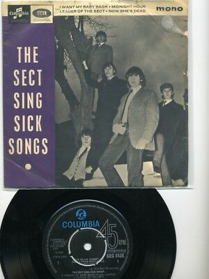 EP - The DOWNLINERS SECT - The Sect Sing Sick Songs - Beat/Blues - UK