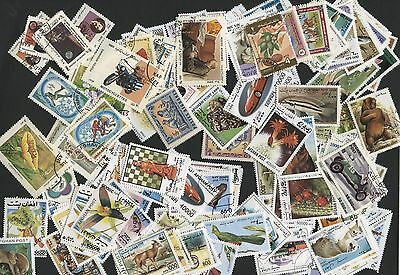 Afghanistan, 250 Different Stamps - Nice Collection!