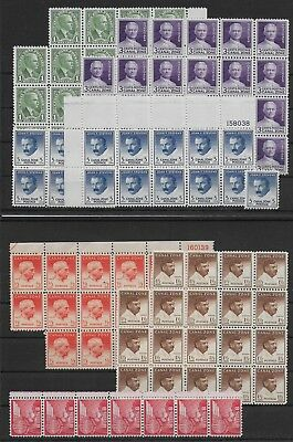 Panama Canal Zone    - 1928-51    Mint stamps  -  MNH-VF # Mich. Lot