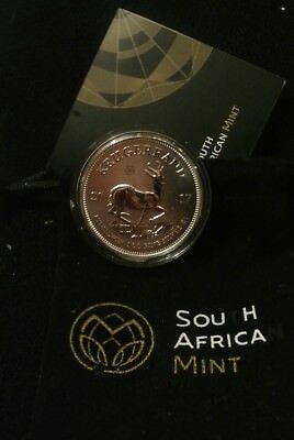 2017  SILVER 50th ANNIVERSARY PROOF KRUGERRAND