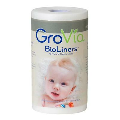 GroVia BioLiners Unscented Diaper Liners, 200 Count 200 Liners