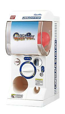 1/2 Scale Bandai Japan Official Gashapon Machine for Party Gacha Capsule +6 toy