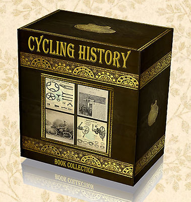 139 Antique Cycling Bicycle Books on DVD - Penny Farthing History Bike Wheels D1