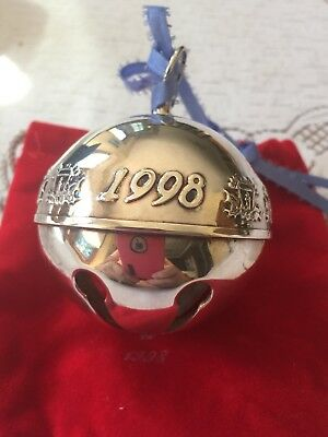 Wallace 1998 - Silver Plated Sleigh Bells