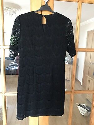 F&F Black Lace Occasion Dress, Size 14 - 16