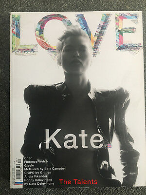 love magazine kate moss by david sims n0. 14 Autumn/Winter 2015 EXC