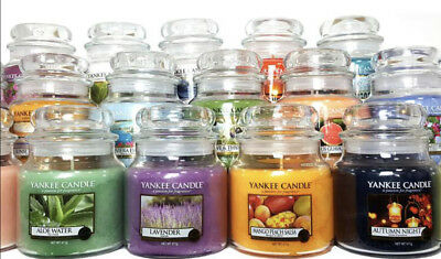 Yankee Candle Scented Jar Variety