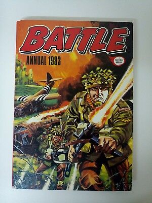 Battle Annual. 1983. Fine condition.