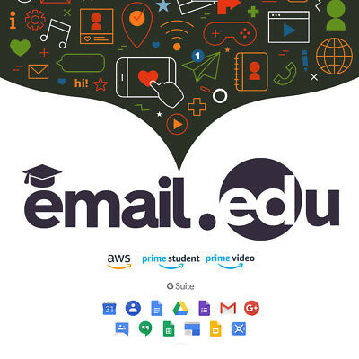 Student EDU Email Free Office Pro + Amazon Prime Student + Google Drive+FreeGift