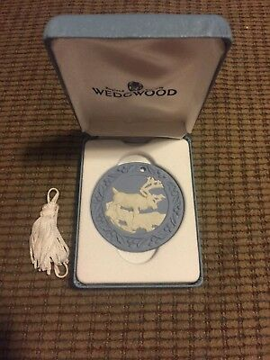 Wedgwood ANNUAL JASPERWARE ORNAMENT 1997 Reindeer 82013