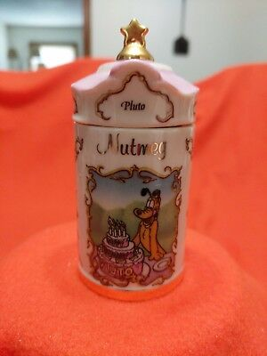 "Lenox Walt Disney Spice Jar ""Pluto"" Jar and Lid"