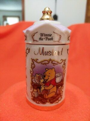"Lenox Walt Disney Spice Jar ""Winnie the Pooh"" Jar and Lid"