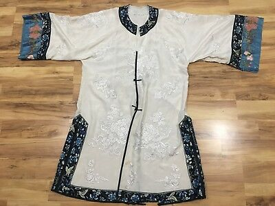 Antique Vintage embroidered CHINESE ROBE