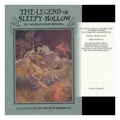 The Legend of Sleepy Hollow by Irving, Washington Hardback Book The Cheap Fast