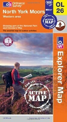 North York Moors - Western Area (OS Explorer Map Active) by Ordnance Survey The