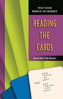 Reading the Cards (Test Your Bridge Techniques S.) by Tim Bourke Paperback Book