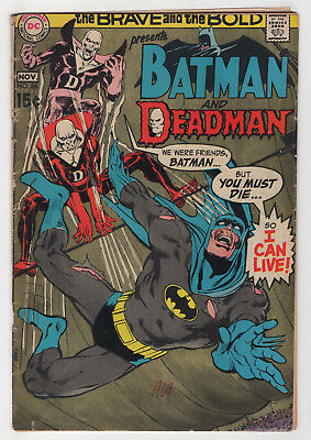 The Brave and the Bold #86 (Oct-Nov 1969, DC) [Deadman] Bob Haney Neal Adams k