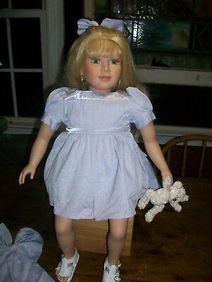 "My Twinn 23"" Doll-- Blonde/blue Eyed  -Non Posable-Catherine Mold-Denver Era"