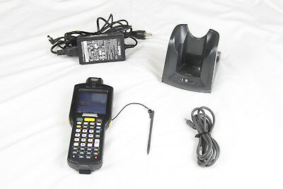 MOTOROLA SYMBOL MC3190 Barcode Scanner Factory Reset Docking Station Charger