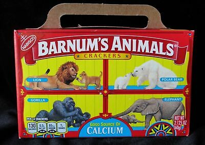Nabisco Barnums Animal Crackers Box Cage Background PETA DISCOUNTINUED