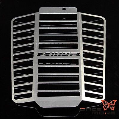 Chrome Radiator Grille Guard Cover  For 2012-14 Suzuki Boulevard M109R/VZR 1800