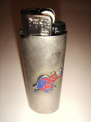 Bud Man Lighter holder, brushed metal