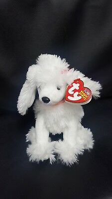 af09fc94f72 TY BEANIE BABY - L AMORE the Poodle Dog (6 inch) - MWMTs Stuffed ...