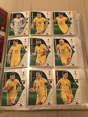 Adrenalyn Xl Fifa World Cup Russia 2018 All Cards Australia