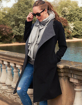 Seraphine wool and cashmere maternity winter coat