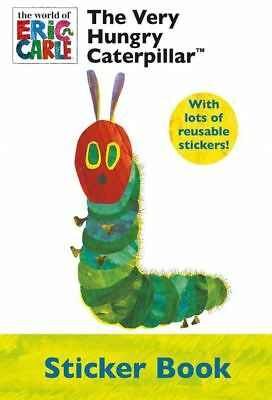 The Very Hungry Caterpillar Sticker Book A4 Eric Carle RRP £5.00 Age 3+
