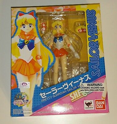 Bandai - S.H. Figuarts - Pretty Guardian Sailor Venus Figure - New