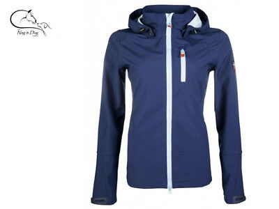 HKM County Softshell Sport Water Resistant Breathable Fabric Coat/ Riding Jacket