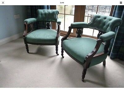 edwardian chairs