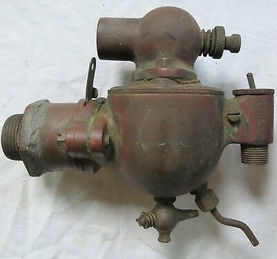 Monarch Valve Co Hit Miss Engine Carburetor Pat Apld For Brass Old Vtg Antique