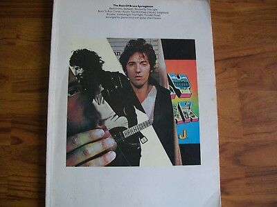 The Best Of Bruce Springsteen   ~ Songbook